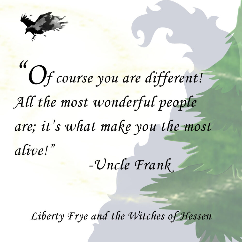 LFWH Quote Uncle Frank Different